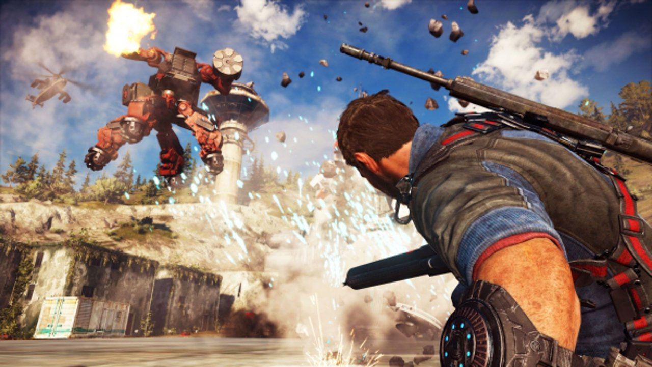 Just Cause 3: una data per il DLC Mech Land Assault
