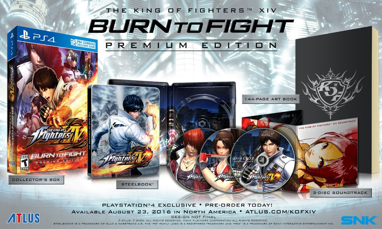 The King of Fighters 14: una Premium Edition in Nord America