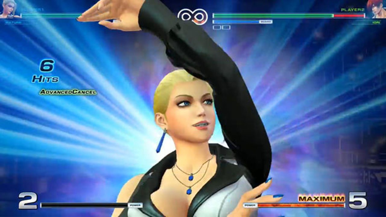 The King of Fighters 14: lo Yagami Team in azione
