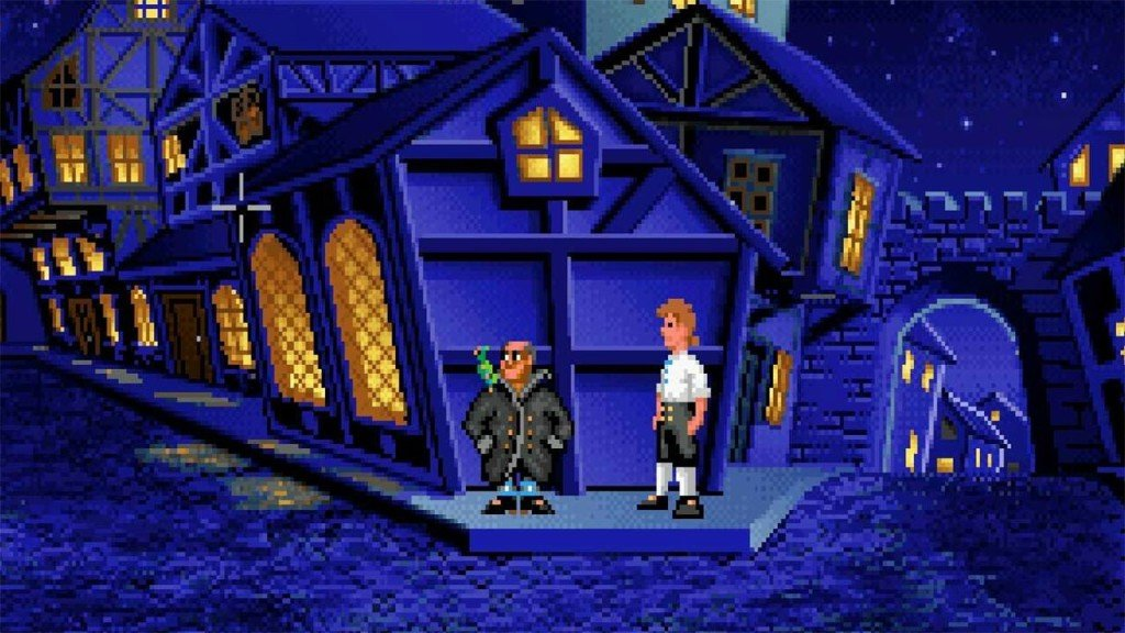 Ron Gilbert Monkey Island