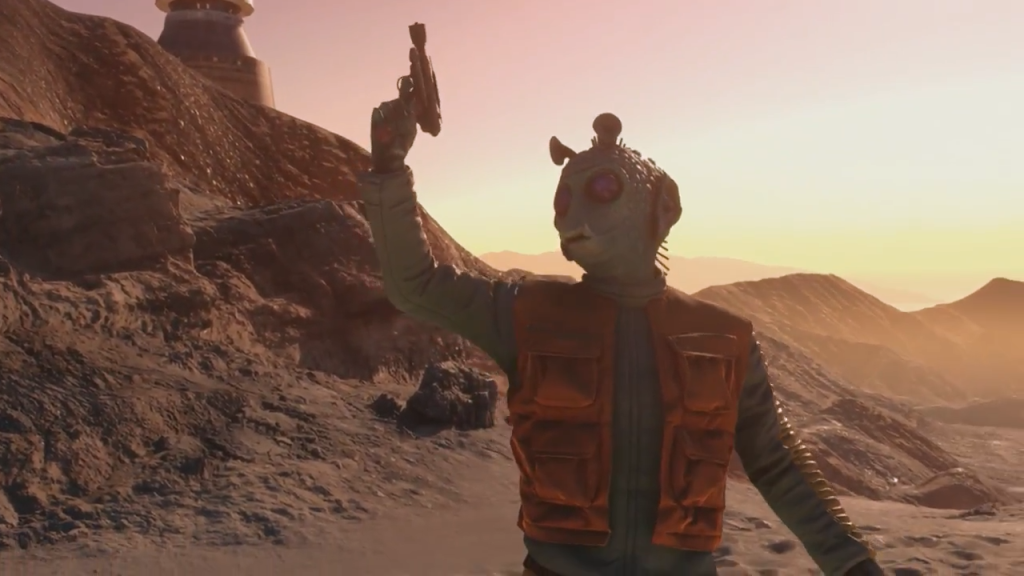 Star Wars Battlefront dice supporto