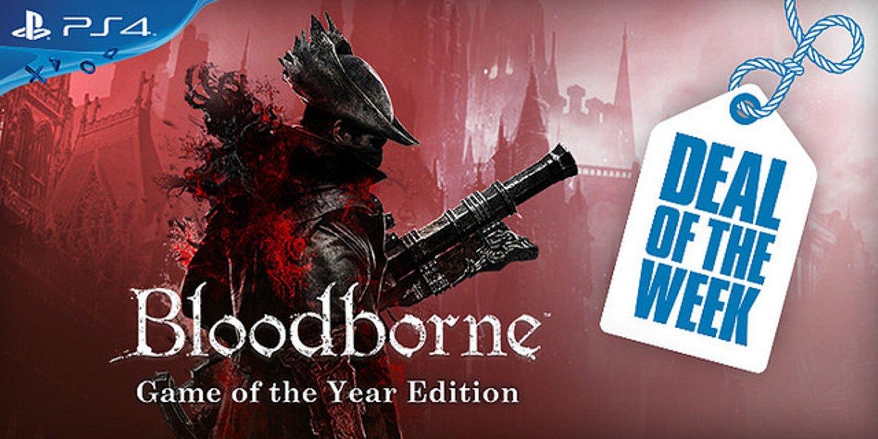 Bloodborne GOTY è l'offerta della settimana su PlayStation Store