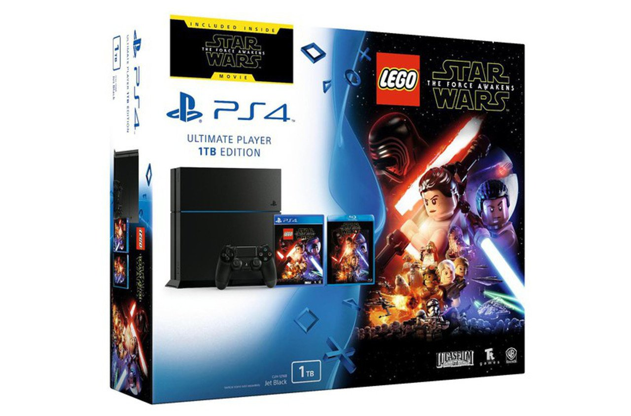 LEGO Star Wars The Force Awakens: un bundle PS4 con film e gioco