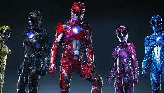 Power Rangers trailer megazord