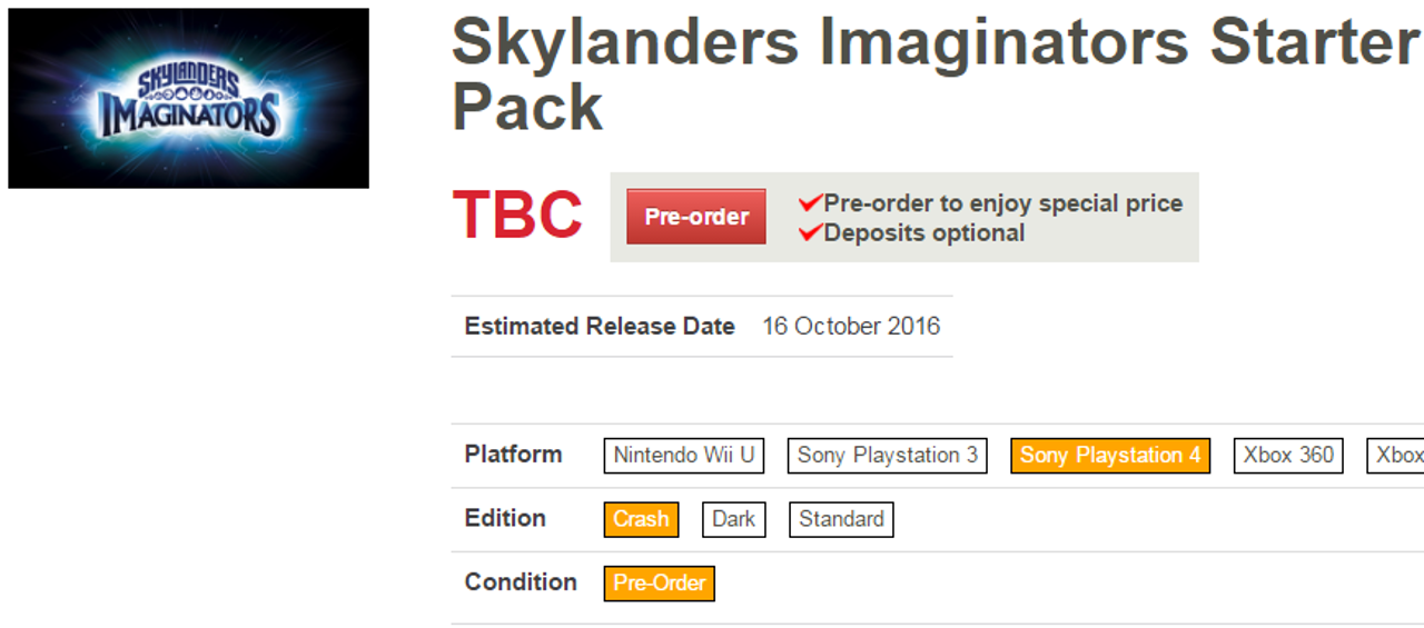 Crash Bandicoot potrebbe tornare...in Skylanders Imaginators