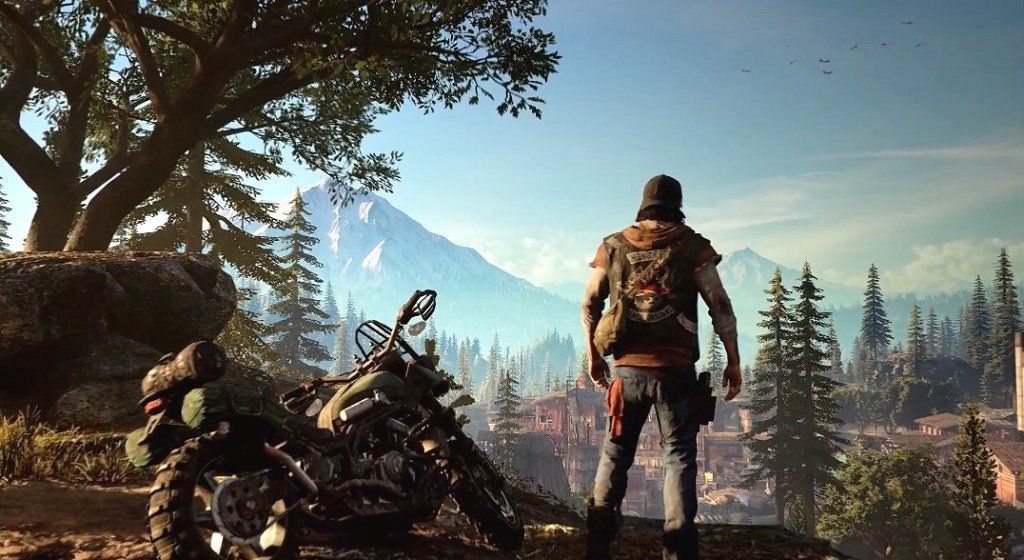 Days Gone PS4 Hub