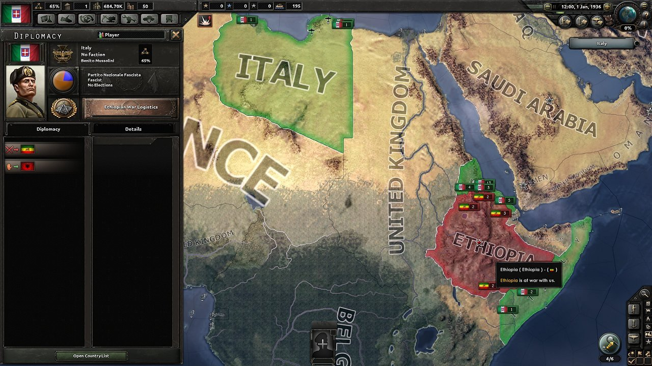 Hearts of Iron IV immagine pc 01
