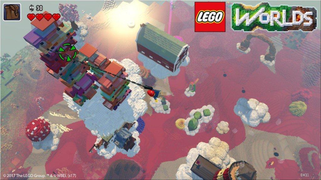 LEGO Worlds data uscita nintendo switch