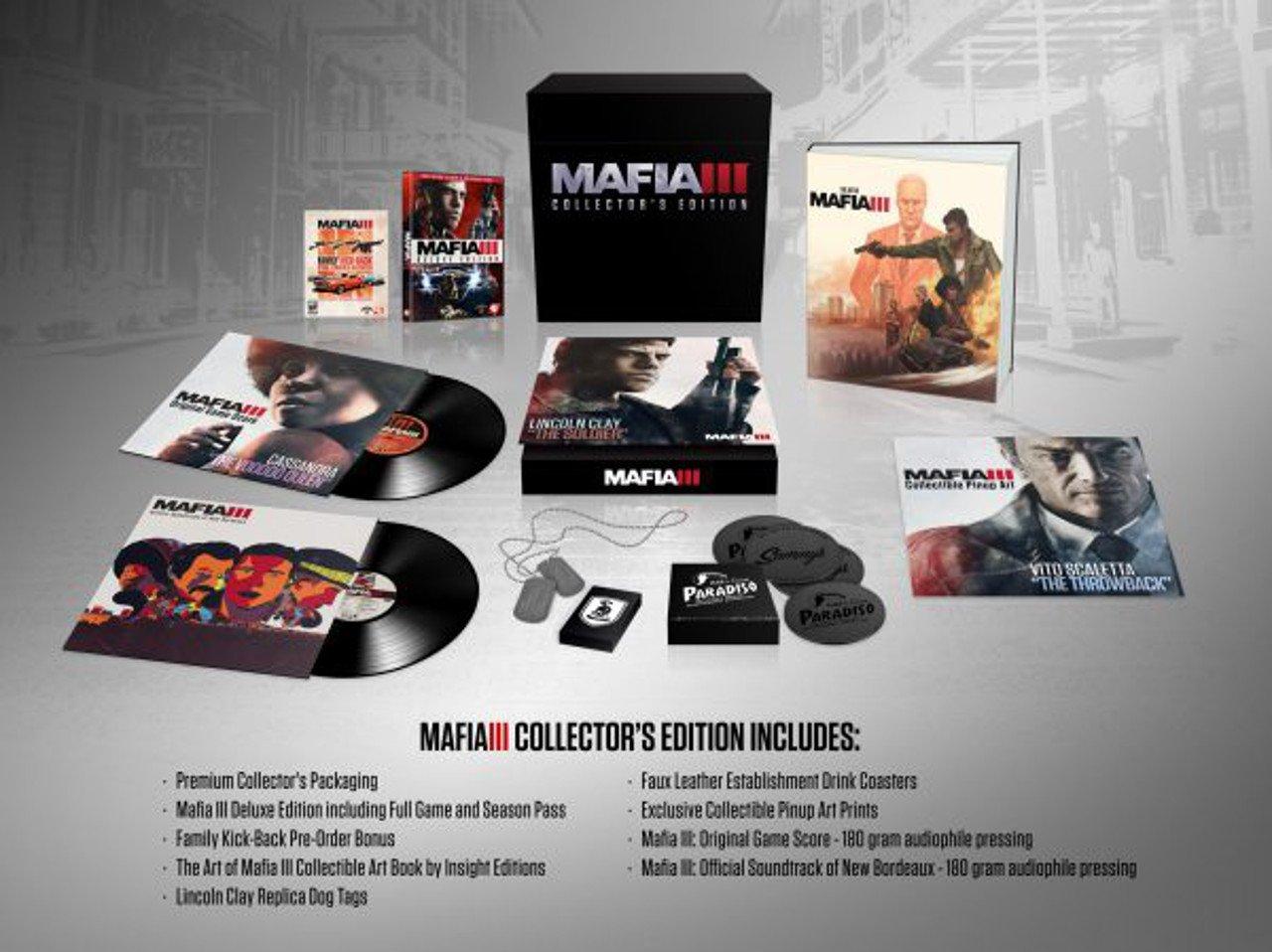 Mafia 3: svelata la Collector's Edition