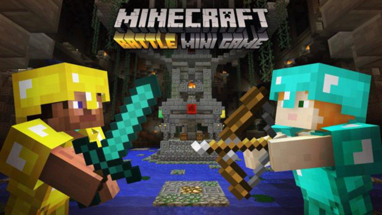 Minecraft: Battle Mode disponibile gratis su console