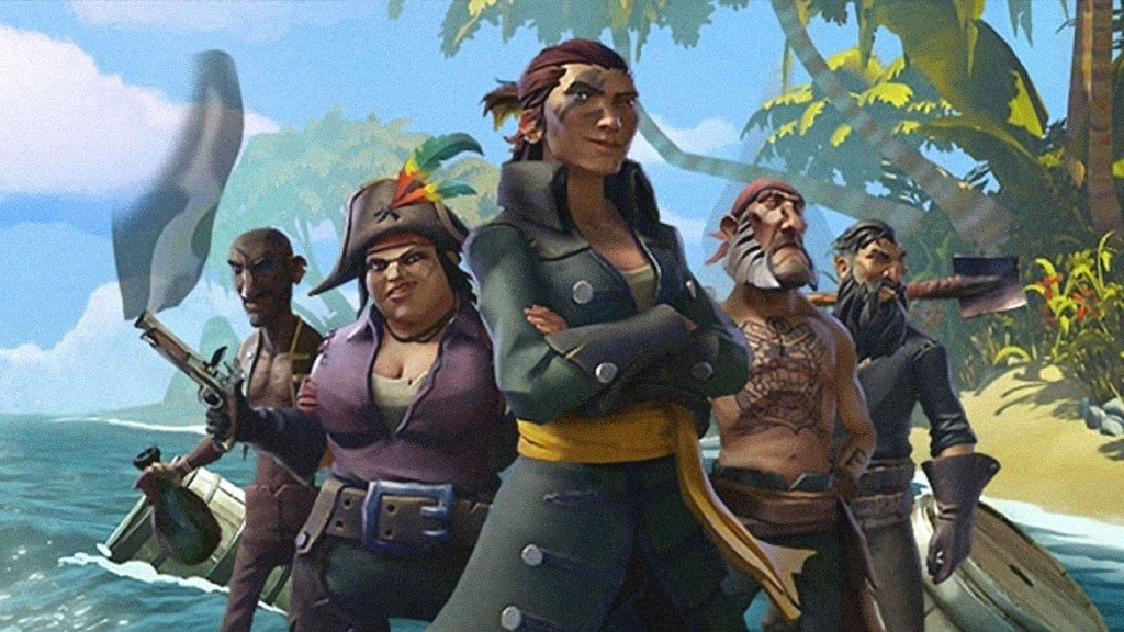 Sea of Thieves free to play PC Xbox One Hub