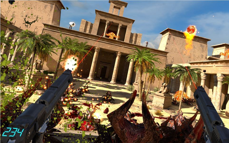 Serious Sam VR the last hope accesso anticipato