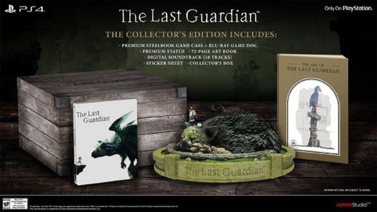 The Last Guardian: svelata la Collector's Edition