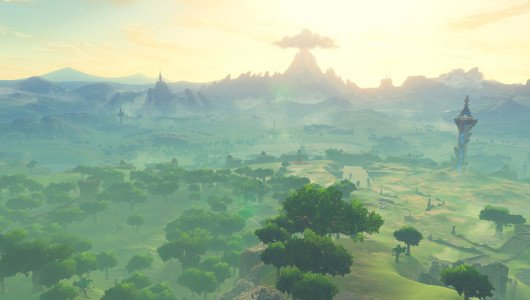 The Legend of Zelda Breath of the Wild wii u nintendo