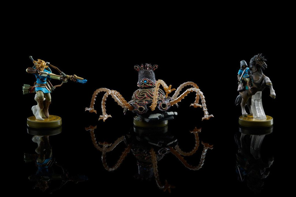 The Legend of Zelda Breath of the Wild amiibo e3 2016