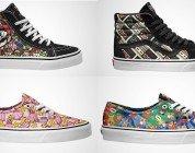 Nintendo e Vans presentano la nuova linea di calzature a tema