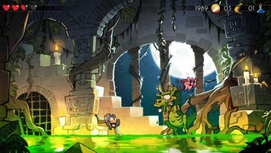 Wonder Boy The Dragon's Trap trailer lancio