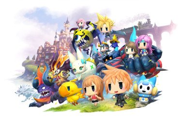 World of Final Fantasy trailer tgs 2016