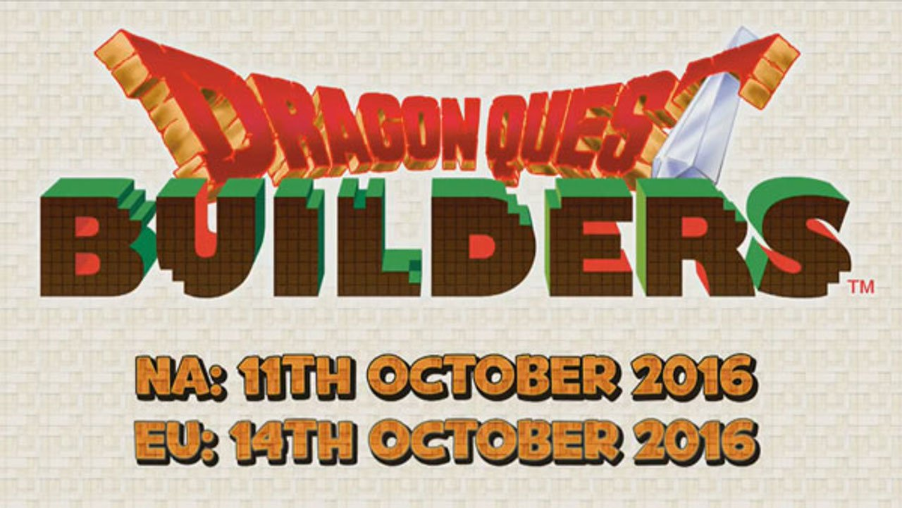 Dragon Quest Builders ha una data d'uscita europea