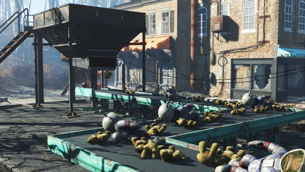 Fallout 4: disponibile da oggi il DLC Contraptions Workshop