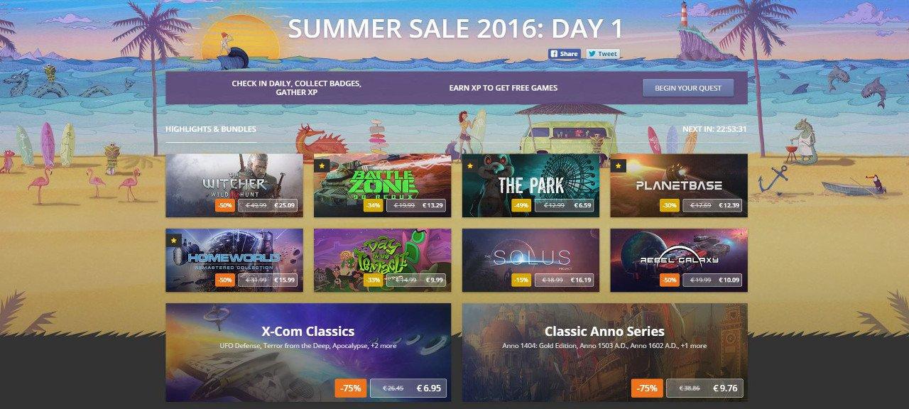 GOG.com da inizio ai saldi estivi e regala System Shock 2