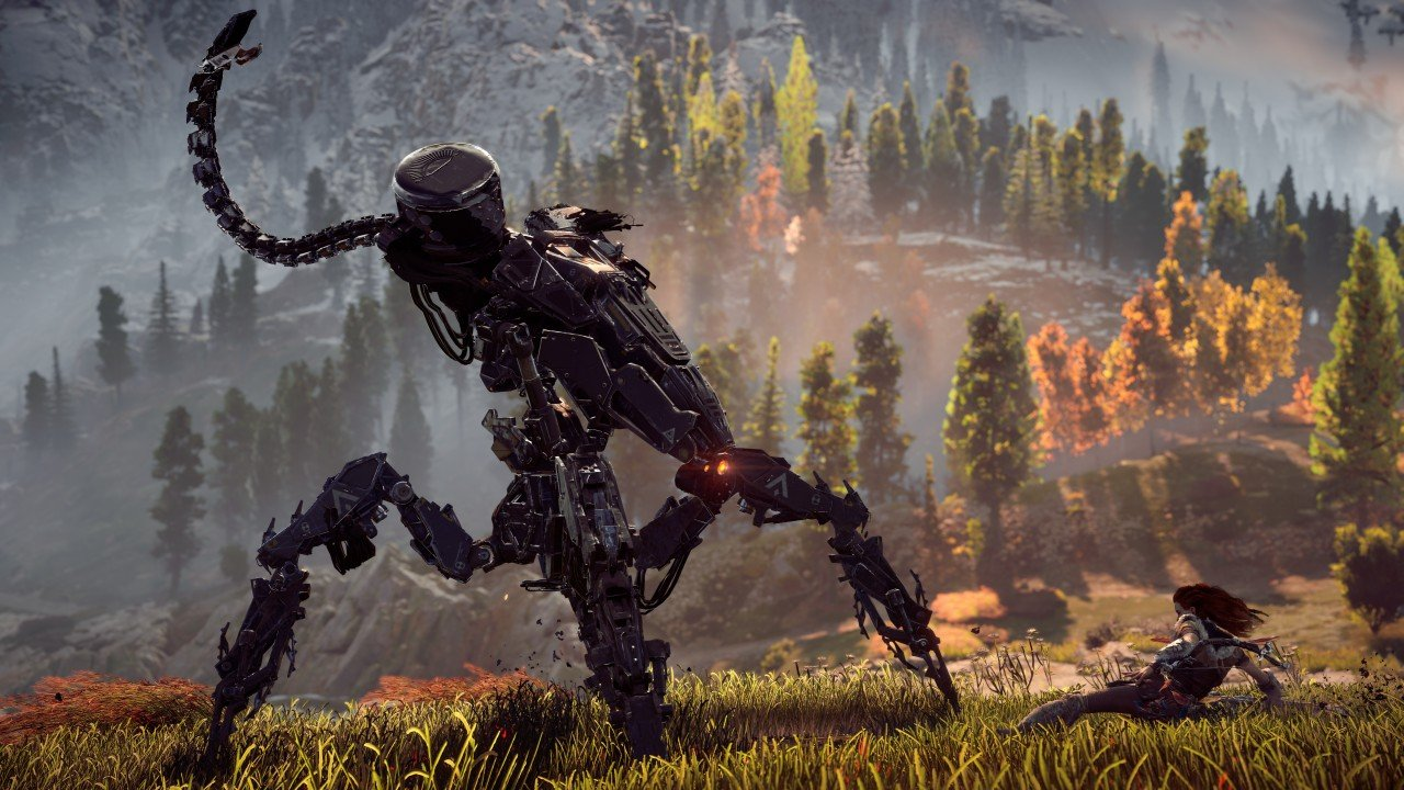 horizon zero dawn e3 2016 immagine ps4 08