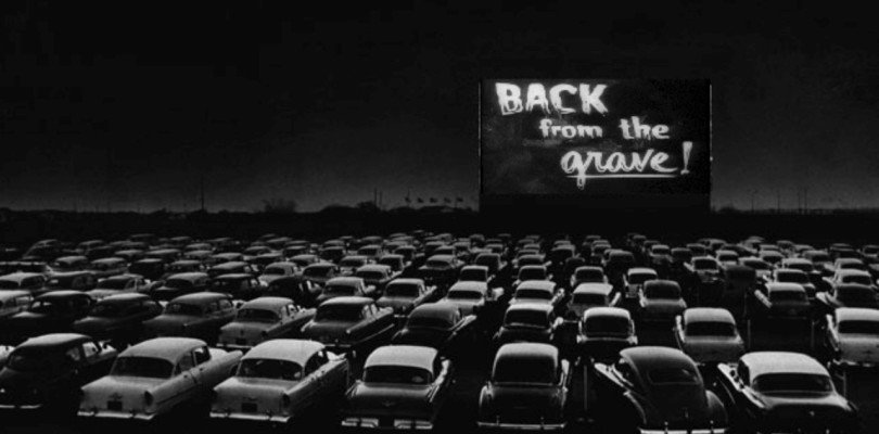 la linga notte del drive in editoriale