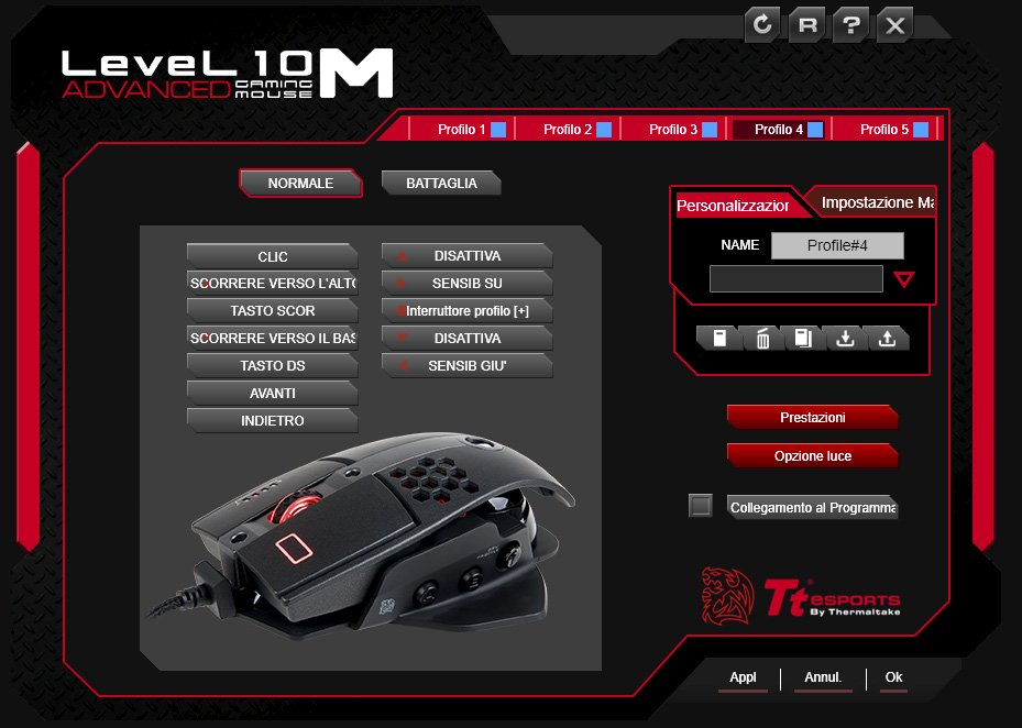 level 10m advanced mouse gaming