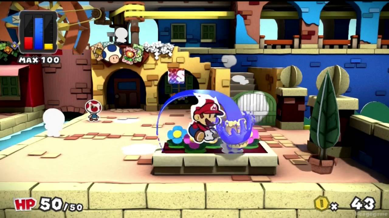 Paper Mario Color Splash ha una data d'uscita