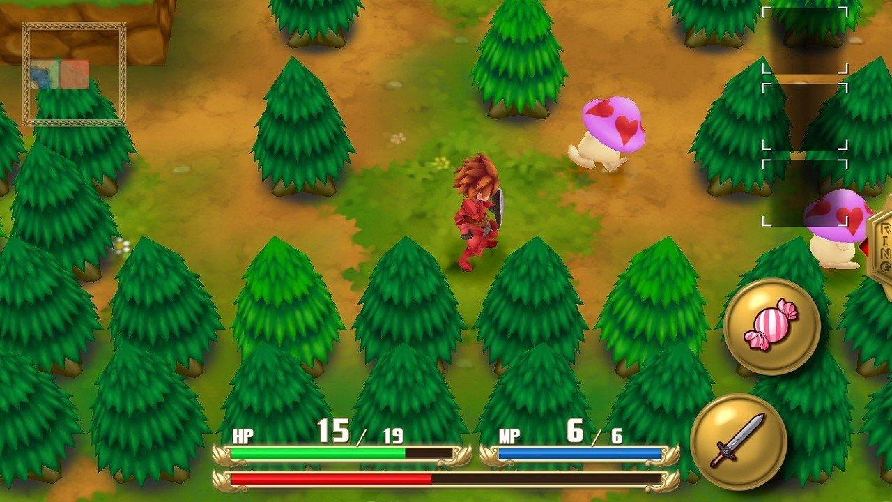 Adventures of Mana immaginePS Vita Android iOS 02