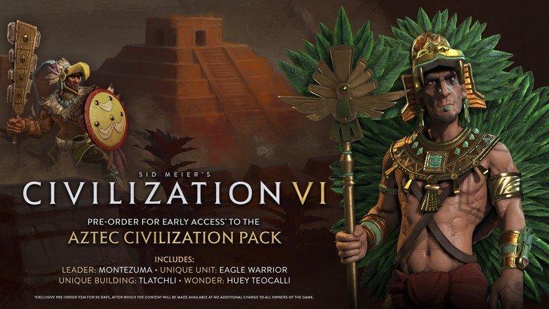 Civilization VI bonus pre-order aztechi