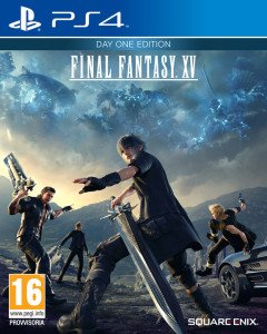 Final Fantasy XV cover PS4