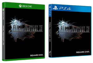 Final Fantasy XV cover reversibile 02