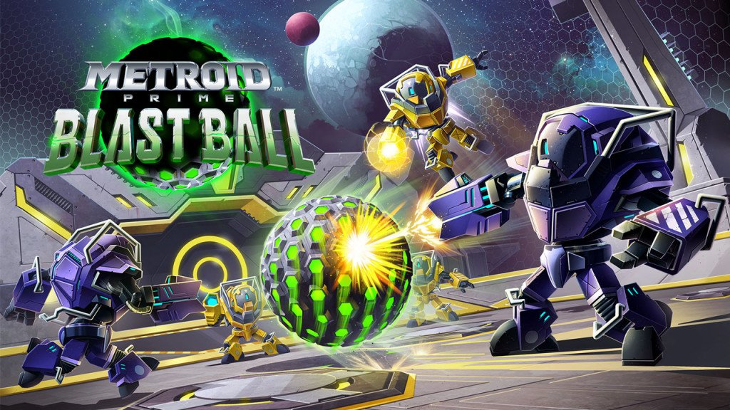 Metroid Prime Blast Ball demo eshop