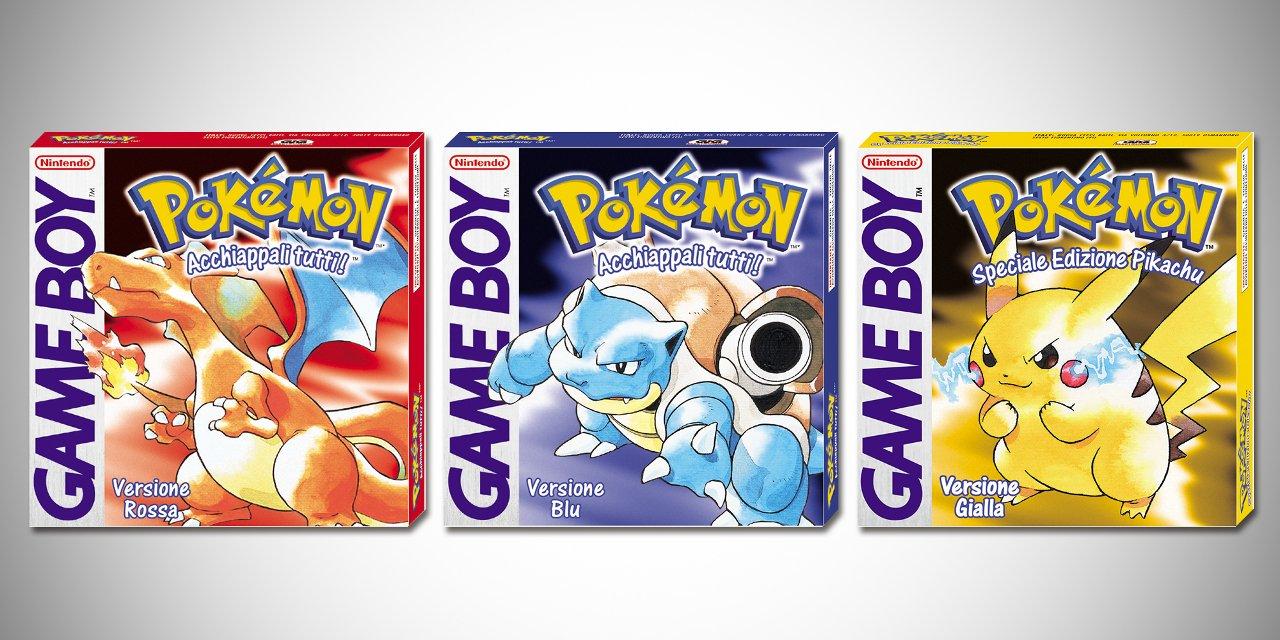 Pokémon Rosso, Blu, e Giallo in sconto su Nintendo eShop