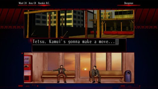 The Silver Case trailer personaggi
