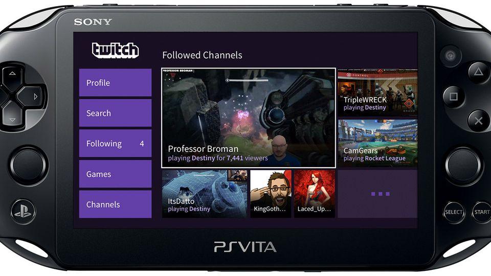 Twitch PS Vita