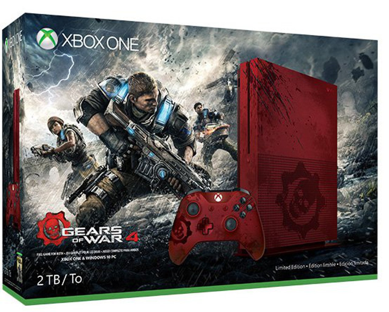 Gears of War 4: trapelato un bundle con Xbox One S
