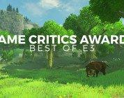 The Game Critics Awards E3 2016 The Legend of Zelda Breath of the Wild