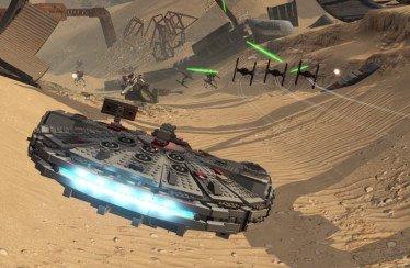 Lego Star Wars Il Risveglio della Forza: trailer delle dogfight