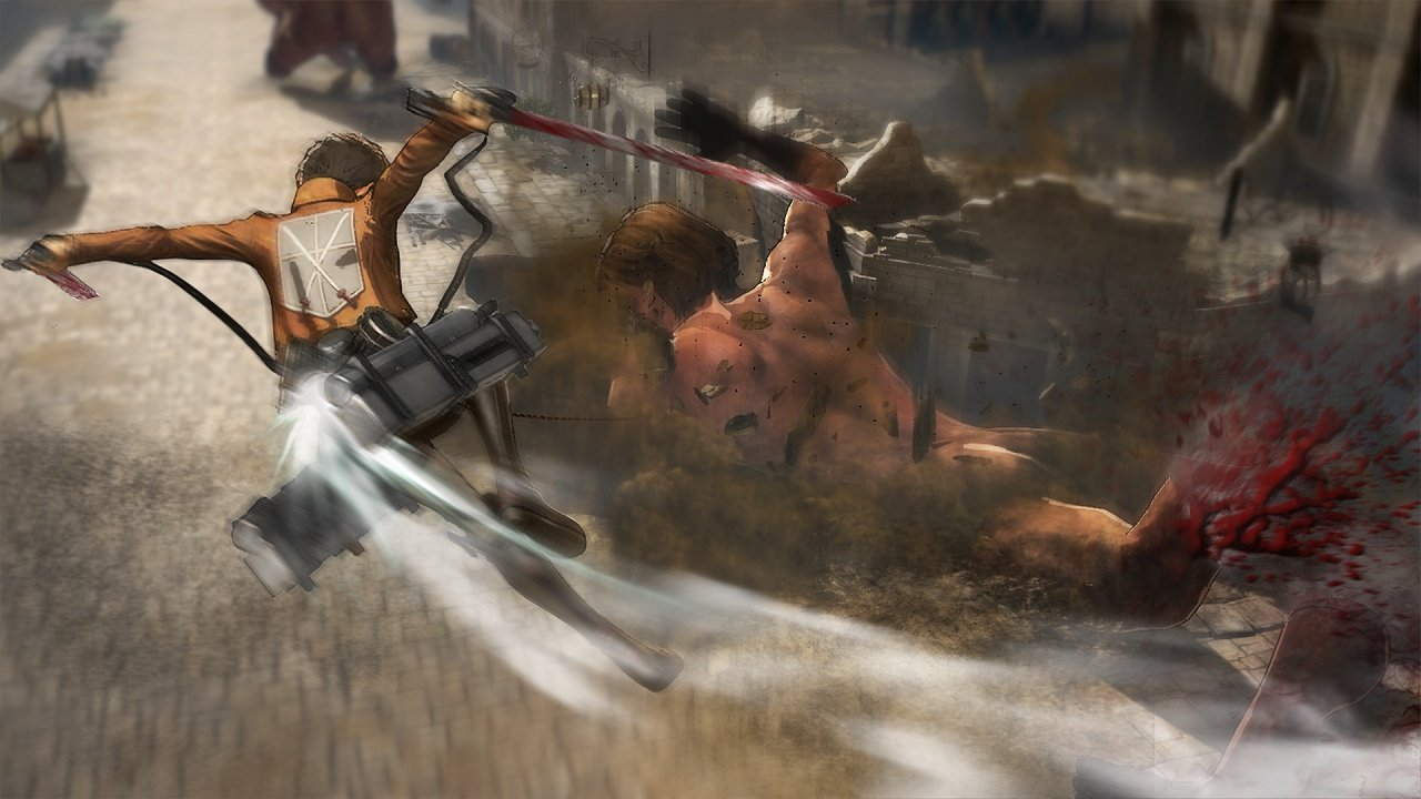 Attack on Titan Wings of Freedom immagine PS Vita PS3 PS4 04