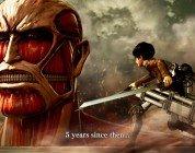 Attack on Titan è disponibile da oggi, pubblicato il trailer di lancio