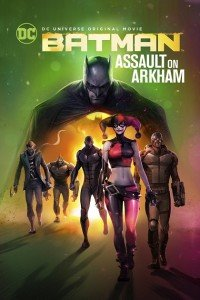 Batman Assault on Arkham Cinema locandina