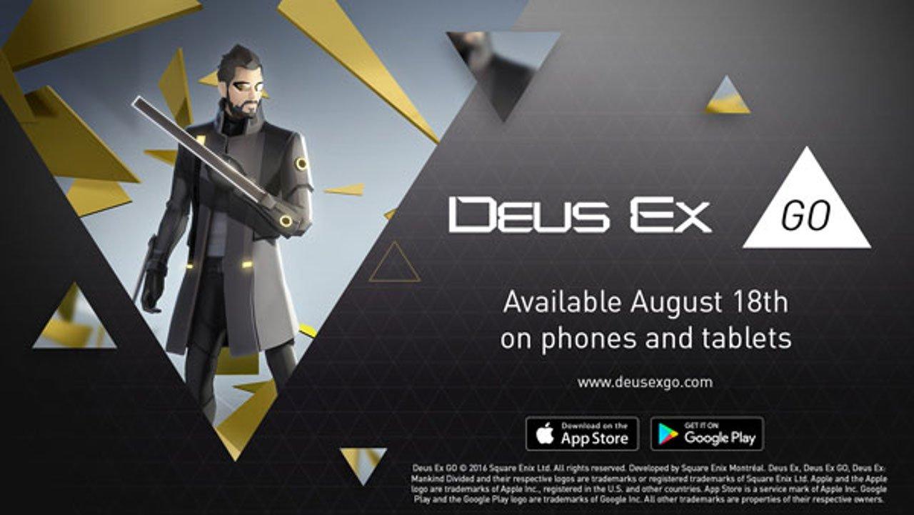 Deus Ex GO ha una data d'uscita