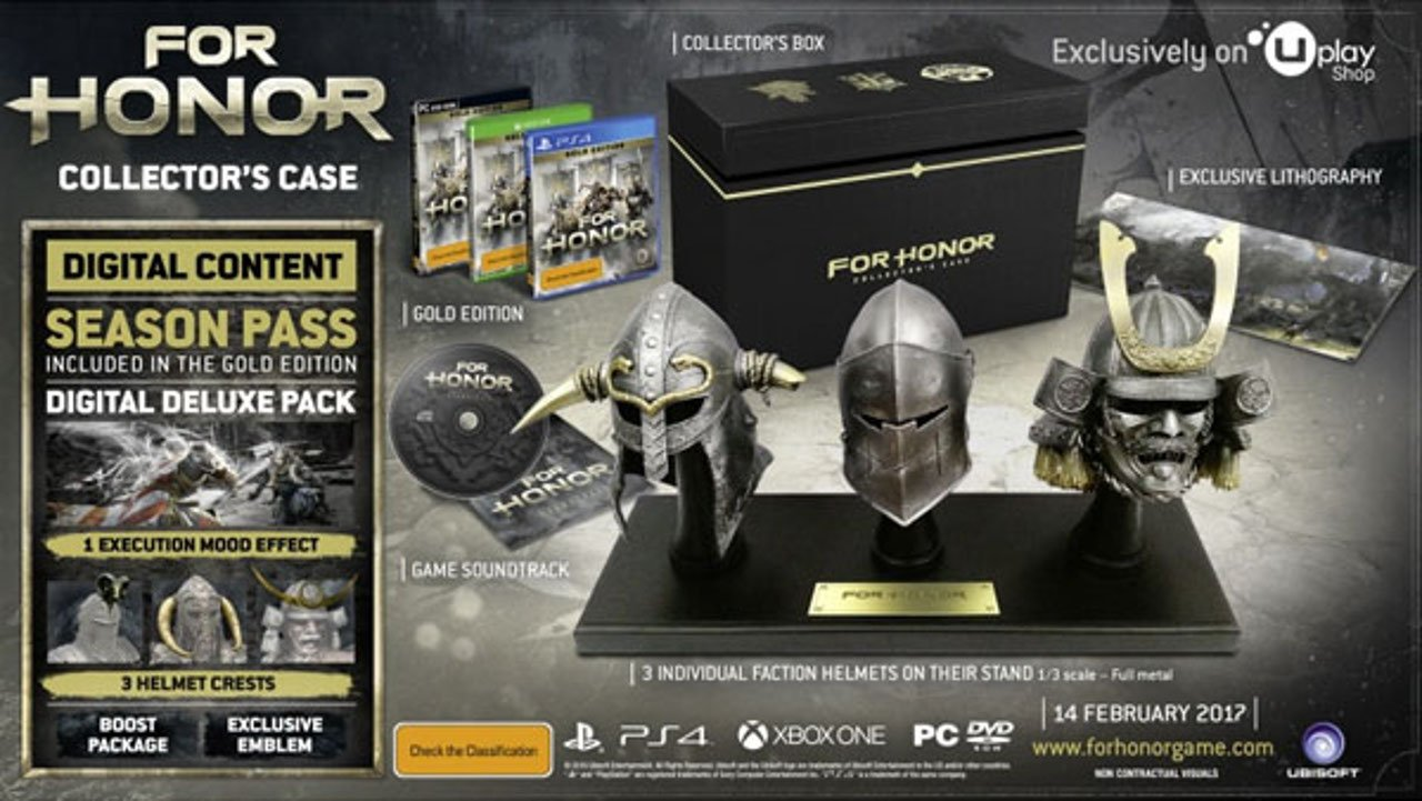 For Honor: svelata Limited Edition e le date per la Closed Alpha
