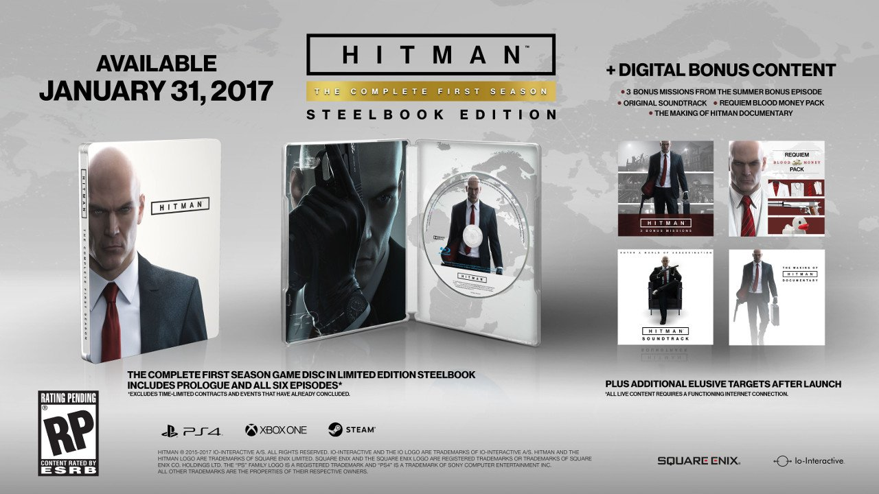 Hitman: The Complete First Season uscirà a gennaio