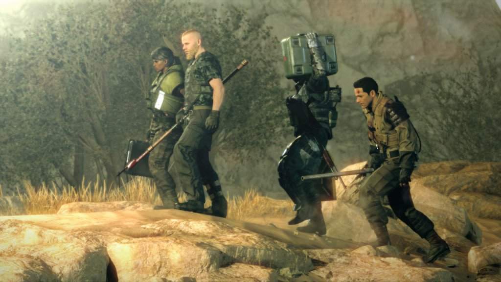 metal gear survive connessione internet