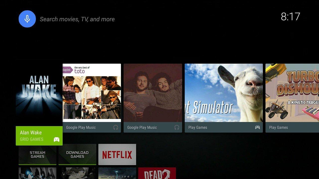 NVIDIA SHIELD Android TV immagine 01