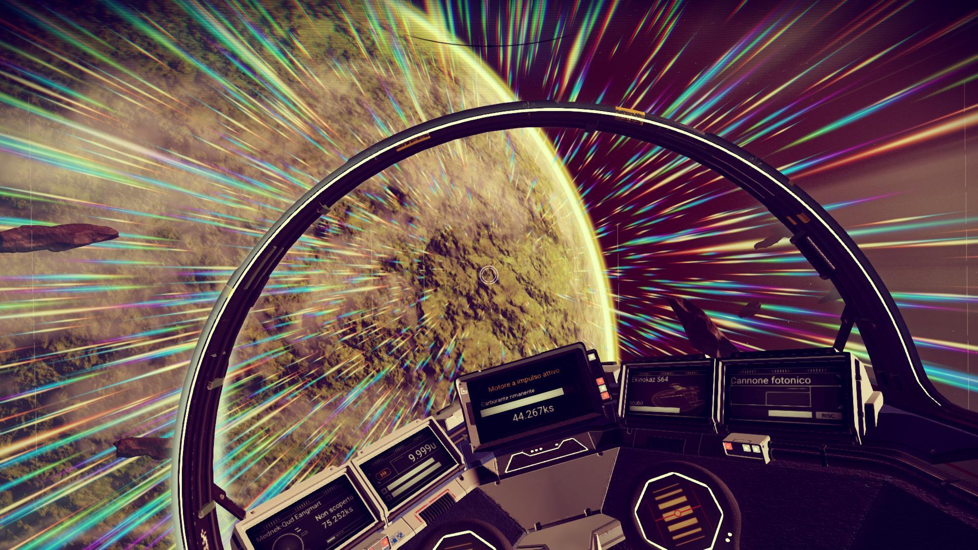 No Man's Sky realtà virtuale