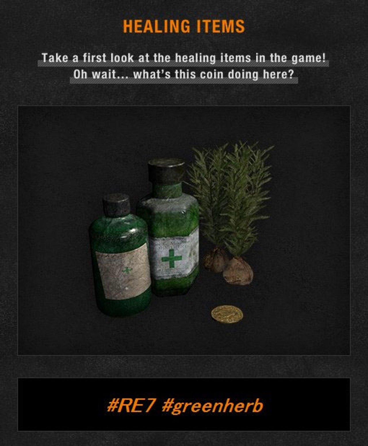 Resident Evil 7: un primo sguardo agli oggetti curativi